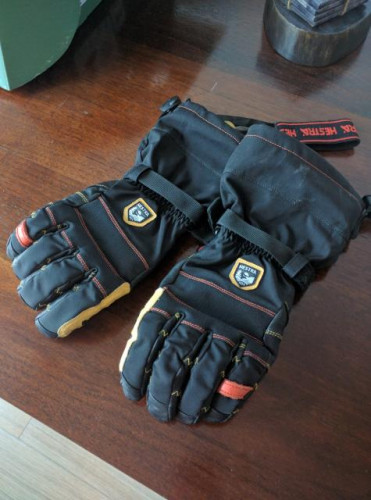 Ergo Grip OutDry Long Glove Black/Black, 11 - Excellent