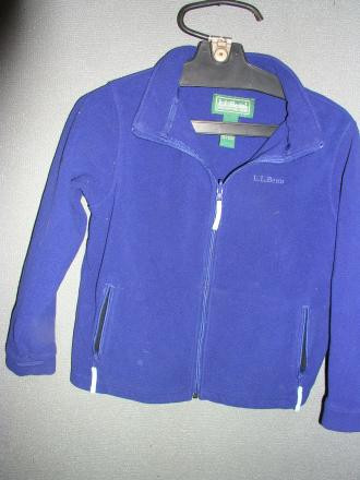 LL BEAN KIDS Medium 10 -12 Fleece Jacket
