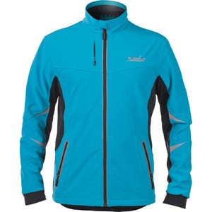 Bergan Softshell Jacket - Men's Aqua/Black, XL - E