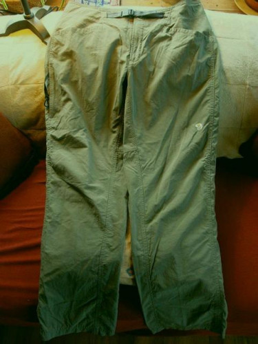 Women's Mountain Hardwear Nylon Pants - Size 12