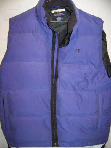 Champion Down Vest, Men's XXLarge