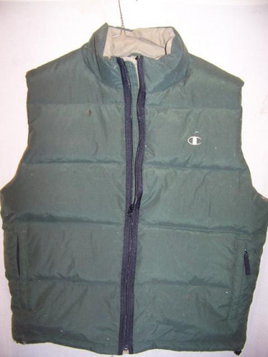 Champion Down Vest, Mens XLarge
