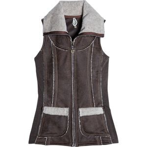 Dani Sherpa Vest - Women's Oak, L - Excellent