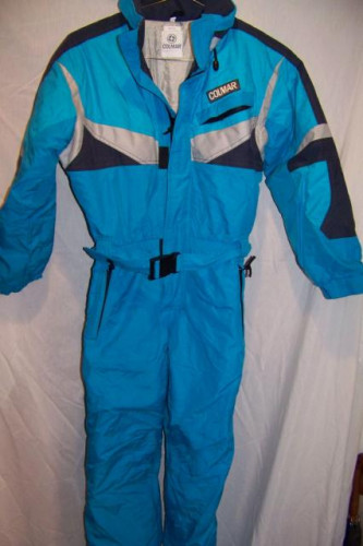 Colmar Insulated Snow Ski One Piece Suit, Women's Small Euro 40