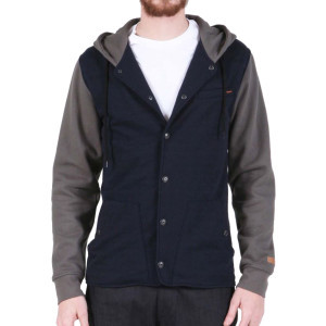 Barett Full-Zip Hoodie - Men's Vintage Navy, M - L