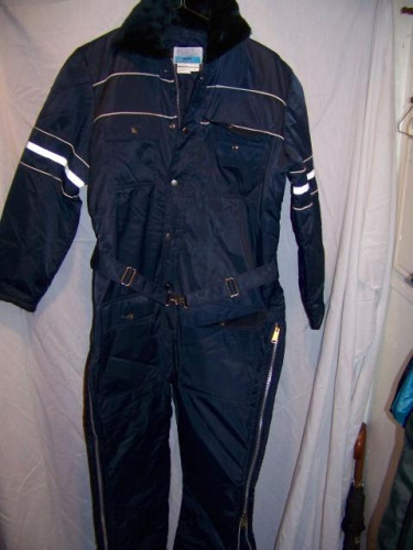 Vintage Sears Insulated Snowmobile Snow Suit, Men's 42 Medium