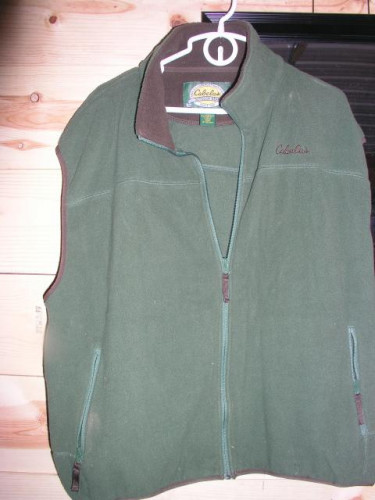 Cabelas Fleece Vest Size 2 XL