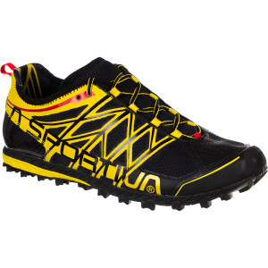 Anakonda Trail Running Shoe - Men's Black/Yellow,