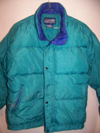 Lands' End Puffy Down Jacket Coat, Large
