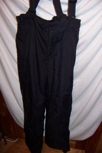 Columbia Shell Snowboard Ski Bibs Pants, Men's XLarge