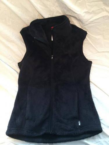 The North Face Osito Vest, Women's, XS, Black, Excellent