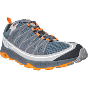 Ion Trail Running Shoe - Men's Shark/Orange, 41.5