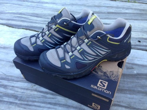 Salomon Ellipse GTX W Size 8 NEW