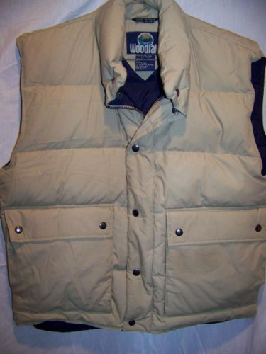 Woodlake Down Vest, Men's Medium