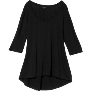 Guyra Top - 3/4-Sleeve - Women's Black, M - Excell