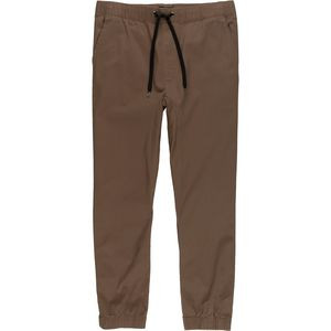 The Backslide Stretch Twill Jogger Pant - Men's Dark Khaki, M - Excell