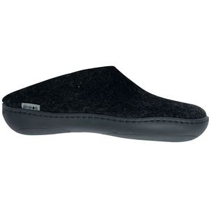 Rubber Soles Slipper Charcoal Slip-On, 38.0 - Excellent