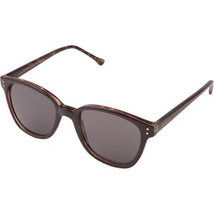 Renee Sunglasses Black Tortoise/Solid Smoke, One Size - Excellent