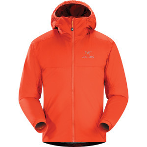 Atom AR Hooded Insulated Jacket - Men's Chipotle,