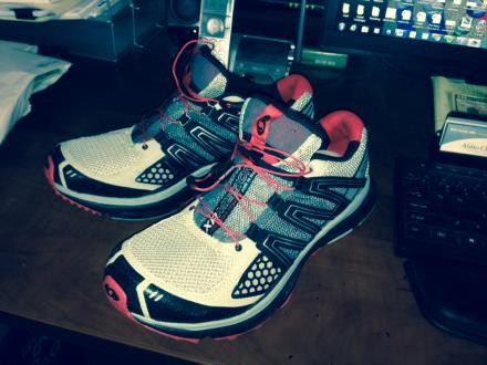 Like New Salomon XR Mission Trail Shoes: Size 10.5