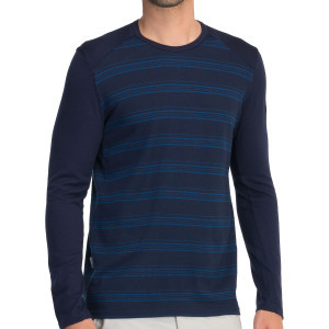 BodyFit 260 Tech Crew - Men's Admiral/Largo Stripe