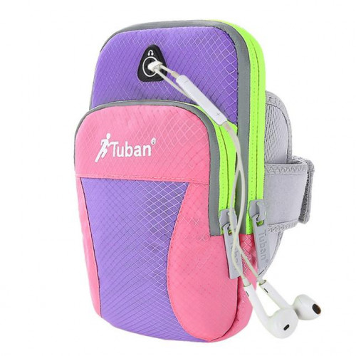 Multi - function sports arm package Pink