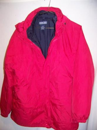 Lands End System Coat Jacket Parka Men Large 42-44