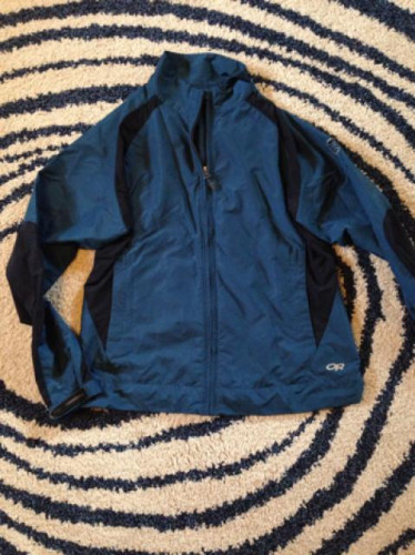 Outdoor research navy wind jacket
