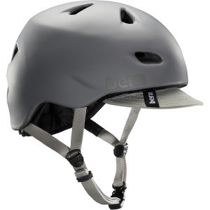 Brentwood Helmet with Visor Matte Grey, L/XL - Exc