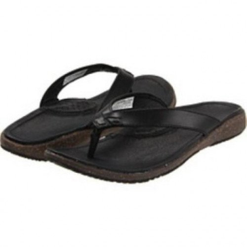 BNIB COLUMBIA TILLY JANE FLIP FLOPS BLACK