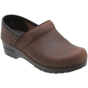 Professional Oiled Clog - Women's Antique Brown Oiled, 42.0 - Excellen