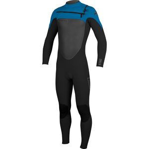 Superfreak FZ 4/3 Wetsuit - Youth  Blk/Blk/Brtblu, 8 - Good