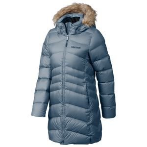 Montreal Down Coat - Women's Steel Onyx, L - Fair