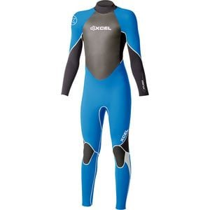 3/2 Xplorer Wetsuit - Kids' Nautical/Black, 4 - Good