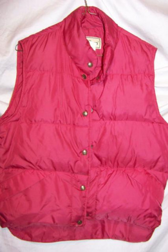 LL Bean Down Vest, Women's Small