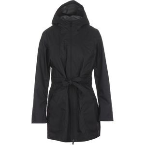 Teralinda Trench Coat - Women's Tnf Black, L - Excellent