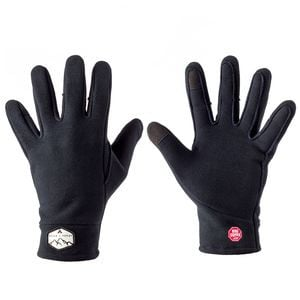 Tech Tip Fleece Glove Black, L - Excellent