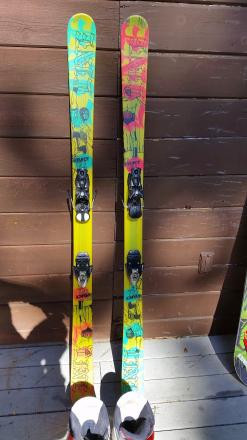 Line El Invader 171, salomon z10 bindings, boots