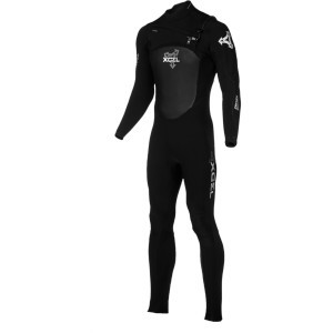 3/2 Drylock Wetsuit - Men's All Black/Silver, XL -