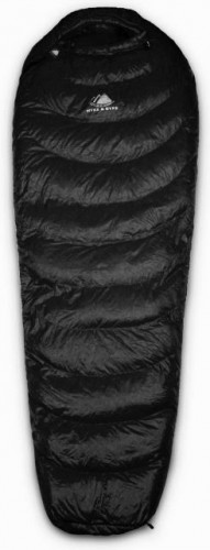 Hyke & Byke Quandary 15°F Down Sleeping Bag - Blue Size Regular