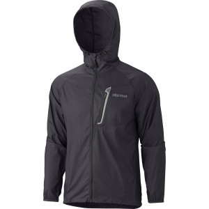 Trail Wind Hooded Jacket - Men's Black, M - Excell
