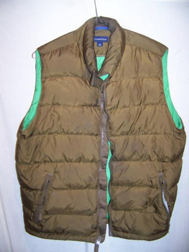 Lands' End Down Vest, Mens Large 42-44