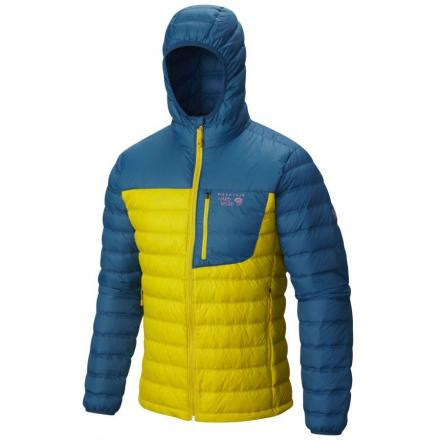 New- Mountain Hardwear Dynotherm Down Hooded Jacket
