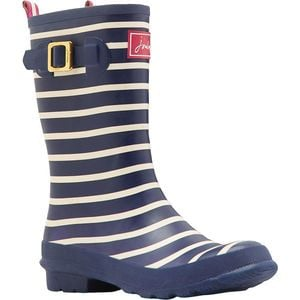 Molly Welly Boot - Women's Navy Stripe, US 10.0/UK 8.0 - Excellent