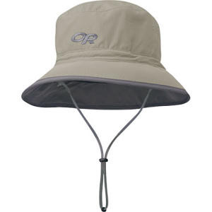 Sun Bucket Hat Khaki/Dark Grey, L - Like New