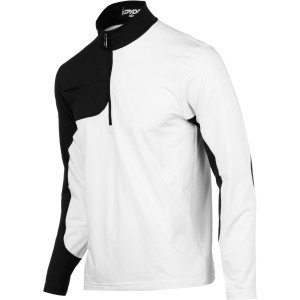Charger Therma Stretch Zip-Neck Top - Men's White/