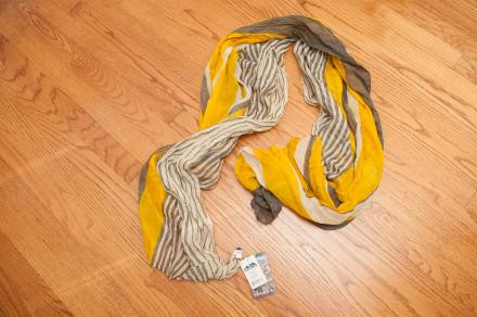 Kavu Siri Scarf, Yellow, Brand New