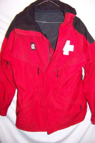 Air Time Ski Patrol Ski Jacket, Men's Small