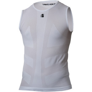 Labur Base Layer - Sleeveless - Men's White, S/M -