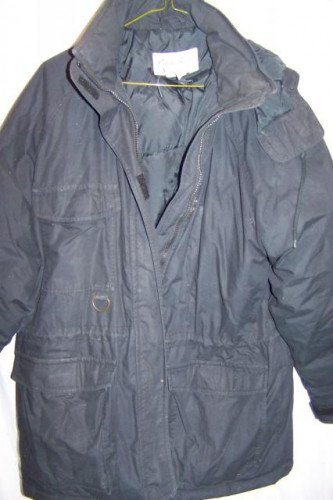 Eddie Bauer Snowline Down Parka Coat Jacket, Women's Medium Black
